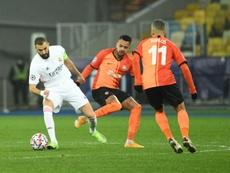 El Madrid se jugará su pase a los octavos frente al 'Gladbach. AFP