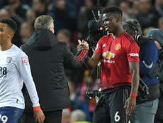 Solskjaer adelantó que Pogba jugará mucho más con el United. AFP