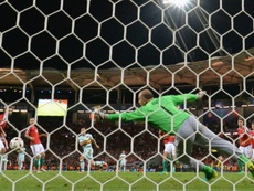 Kiraly, héroe de la Eurocopa. AFP