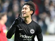 El Eintracht de Frankfurt pelea por jugar en Europa el próximo curso. AFP