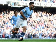 Agüero supera a Lampard en goles con un equipo en la Premier. AFP