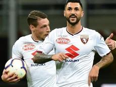 El Torino cumplió con lo esperado. AFP