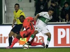 Fragapane, nuevo jugador de Talleres. AFP