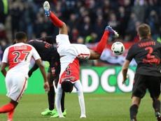 El Mónaco sufrió para ganar en su compromiso liguero. AFP/Archivo