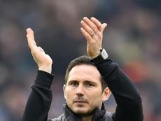 Lampard is now Chelsea's top target. AFP
