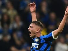 La pépite de l'Inter qui a refusé le PSG. AFP