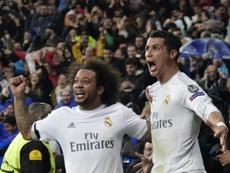 Marcelo revela o que CR7 disse. AFP