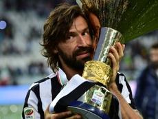 Del Piero commenta l'arrivo di Pirlo. AFP