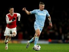 Leeds won 1-0 against Swansea. AFP