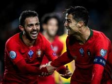 Cristiano Ronaldo et le Portugal s'amusent !. AFP
