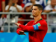 Cristiano ne veut pas prendre sa retraite. AFP