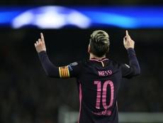 Cafú espera aún más de Messi. AFP