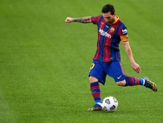 Messi could leave next season. AFP