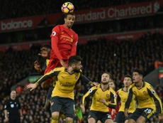 Matip pictured against Arsenal in 2017. AFP