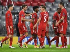 El Bayern fue el equipo que más goles marcó en la pasada Champions. AFP/Archivo
