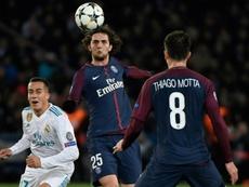 Rabiot estaría convencido de fichar por el Barça. AFP