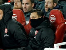 Emery addresses Ozil's consistent absences. AFP
