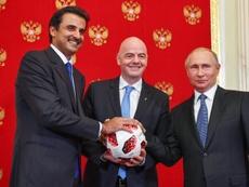 Los Al-Thani podrían comprar el Nápoles. AFP