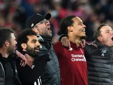 De la mediocridad al equipo casi perfecto: el Liverpool de Klopp. AFP