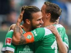 El Werder Bremen se reencontró con la victoria. AFP