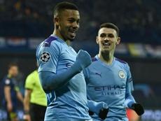 Les compos probables du match de Premier League entre Arsenal et Manchester City. AFP