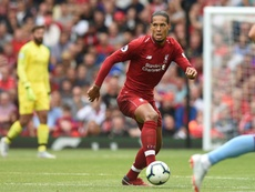 Van Dijk was the quickest player on the pitch against PSG