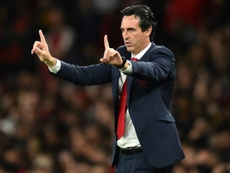 Emery is focusing on matters on the pitch. AFP