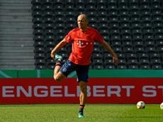 Robben envisage de rechausser les crampons. GOAL