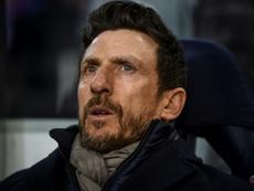 Di Francesco, una opción con peso en Milán. AFP