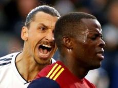 Zlatan Ibrahimovic se acerca al Bologna. AFP