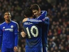 Oscar habló de su ex compañero Hazard. EFE