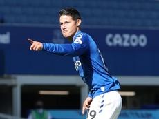 James Rodriguez, d'indésirable à Roi de la Premier League. AFP