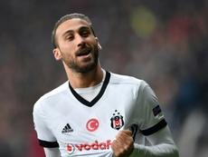 El Besiktas, donde ya jugó, parece su destino más probable. AFP