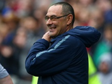 Maurizio Sarri could be Juventus bound. AFP