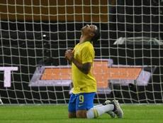 Un '9' sin gol. AFP/Archivo
