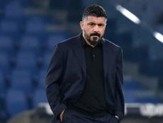 Napoli lost 2-0. AFP