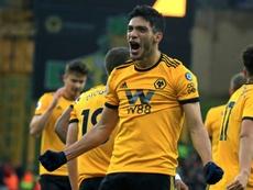 Raúl Jiménez reçoit des offres de plusieurs clubs selon son père. AFP