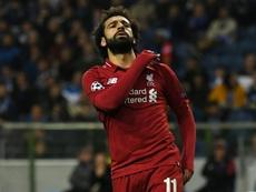 Salah quedó en cuarto lugar con 26 puntos. AFP