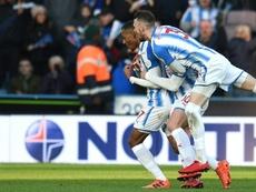 El extremo tiene contrato con el Huddersfield hasta 2020. AFP