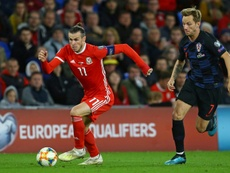 Bale was playing for Wales. AFP