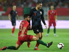 Mateo Kovacic could find himself back in Italy next season. AFP