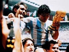 Maradona could have started his European career in England. AFP