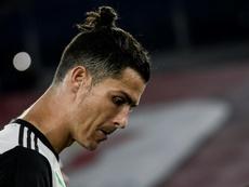 Cristiano Ronaldo est critiqué en Italie. AFP