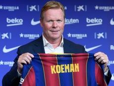 Koeman, con saldo positivo en los duelos frente al Madrid. AFP