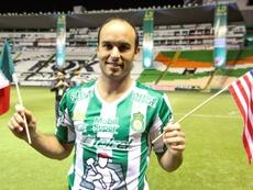 Landon Donovan acabó su carrera en el fútbol mexicano. AFP/Archivo