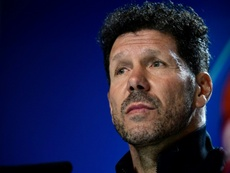 Simeone évoque son admiration pour la Lazio et l'Inter. AFP
