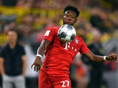 David Alaba podría permanecer en Múnich. AFP
