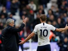 Llorente could return to Tottenham due to Kane's injury. AFP