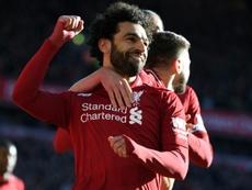 Salah puede con todos. AFP