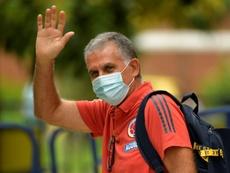 Queiroz se despidió de la Selección Colombiana. AFP